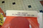 I know it's blurry, but check it out:  this juice expires in 2010.  Wha??