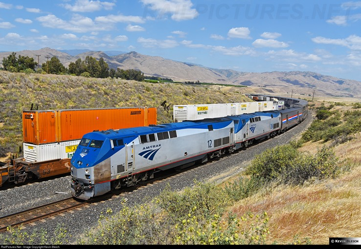 Amtrak e double stack