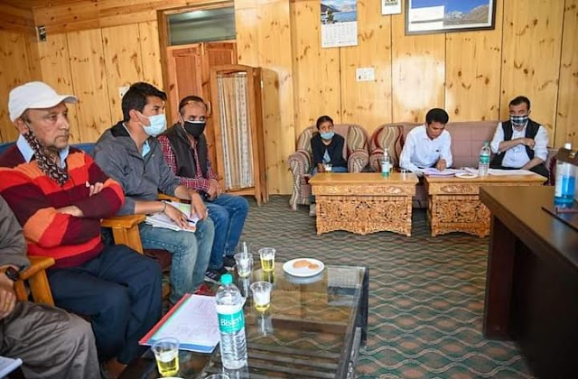 EC Phunsok Tashi Reviews Status of Ongoing Works in Tourism Sector