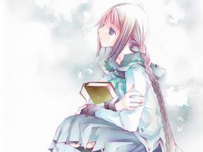 可愛的吃書妖怪兼文學少女