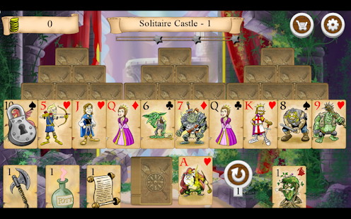 Legends of Solitaire TriPeaks- screenshot thumbnail