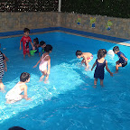 Water Play Activity by Nursery Morning Section at Witty World, Chikoowadi (2018-19)