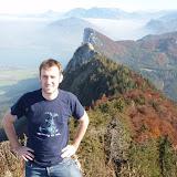 2008-10-11 Fuschel-see-hiking Ritesh, Nikki, and mike