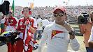 Felipe Massa on the grid