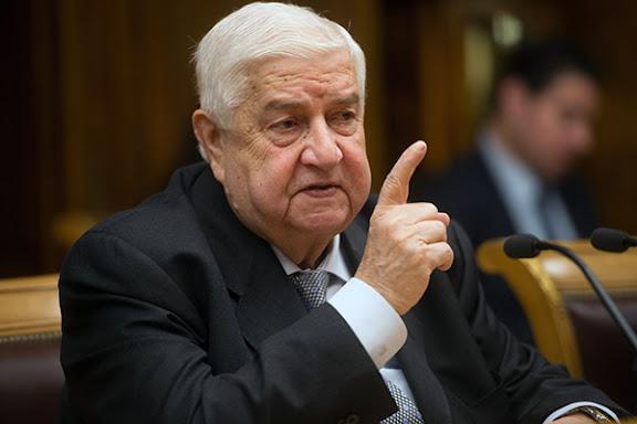 Walid Al-Mouallem a-t-il rencontré secrètement J-M Ayrault à Alger?