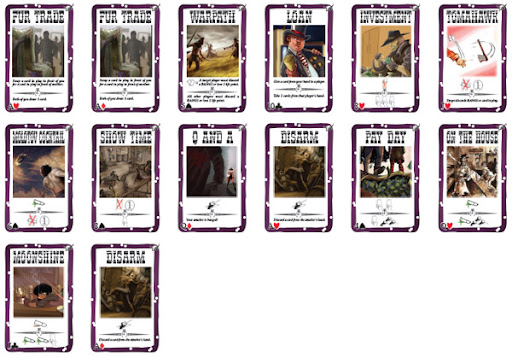 Robbers' Roost Latent Effect Cards Preview