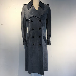 Christian Dior Suede Trench