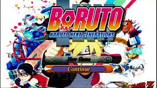 NARUTO ULTIMATE NINJA ROAD TO Boruto MOD (Naruto HEROES 3) LITE ANDROID PPSSPP