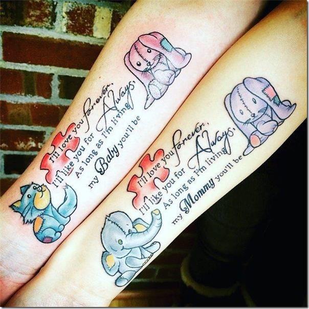 Tatuajes De Familia Que Representan La Union De Los Seres Queridos