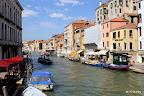 One of the many views of the famed canals, Venice.