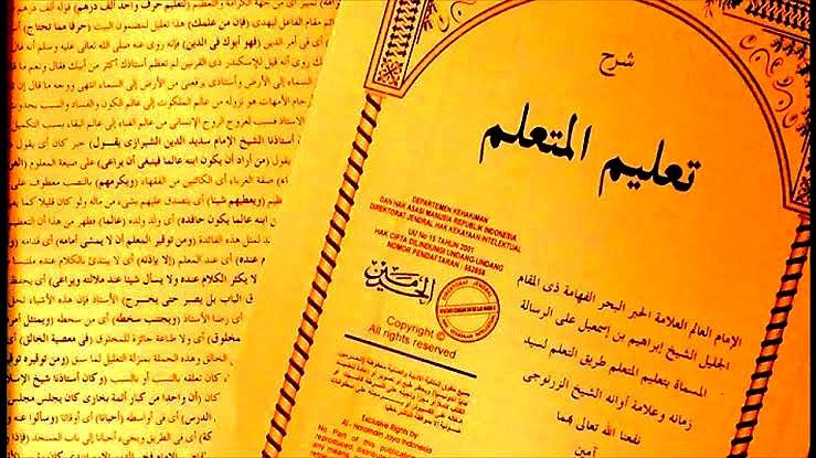 Ta'lim Al Muta'allim Sebagai Kontrak Belajar Ilmu Keislaman