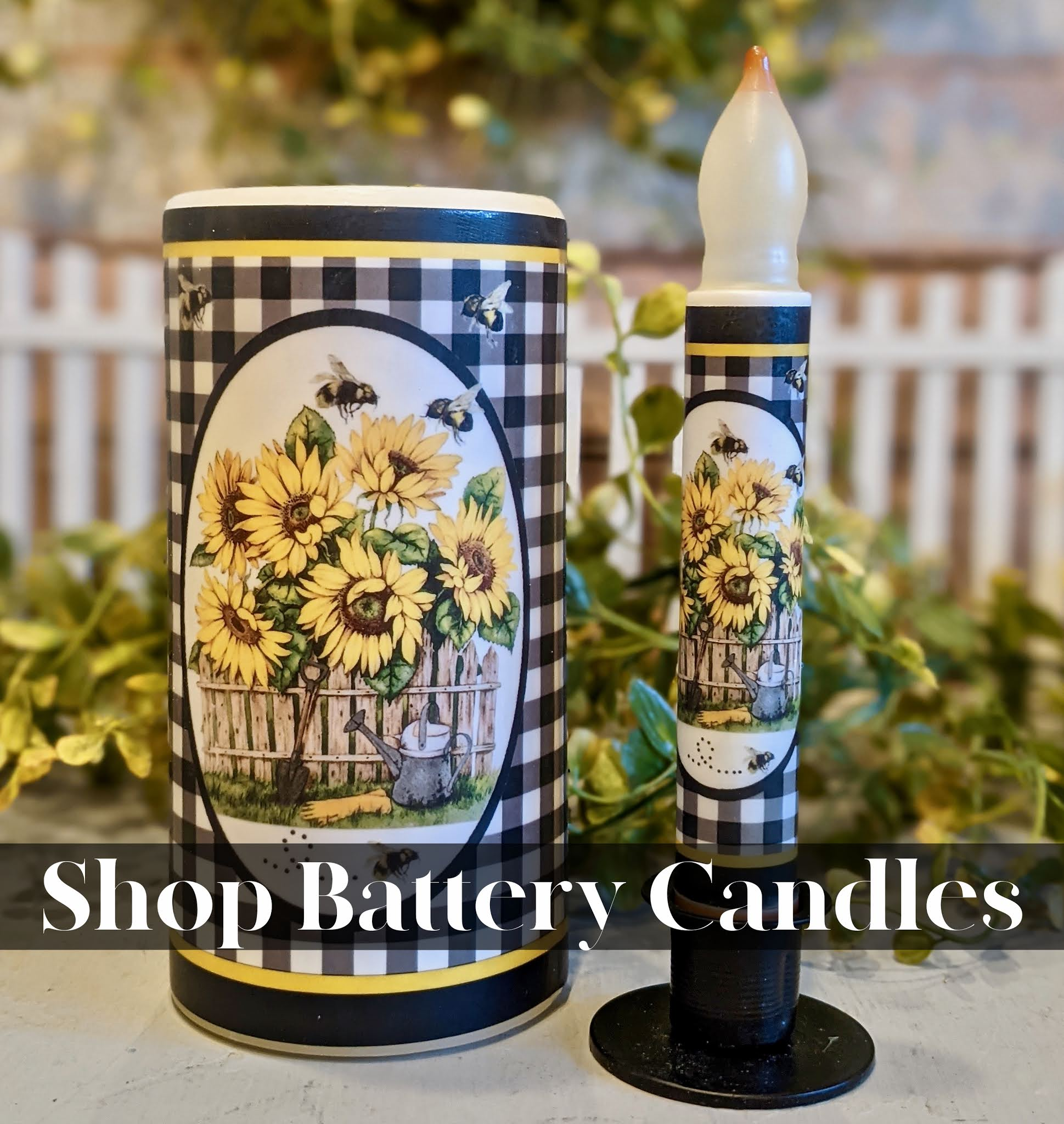 Shop our collection of battery operated candles