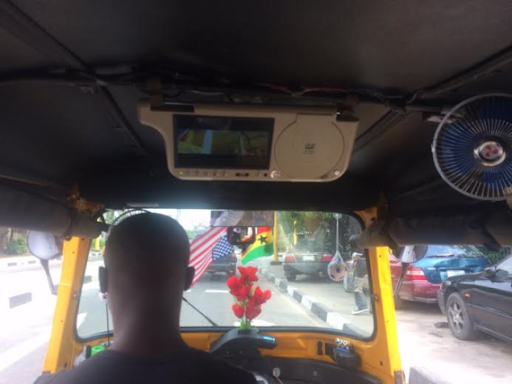 See This Tricycle (Keke-Napep) with Inbuilt Fan And DVD player 1