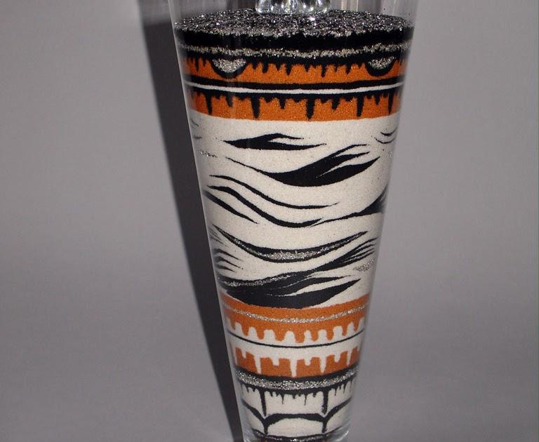 inSABBIAndo: Sand Art: vasi decorati con sabbia colorata