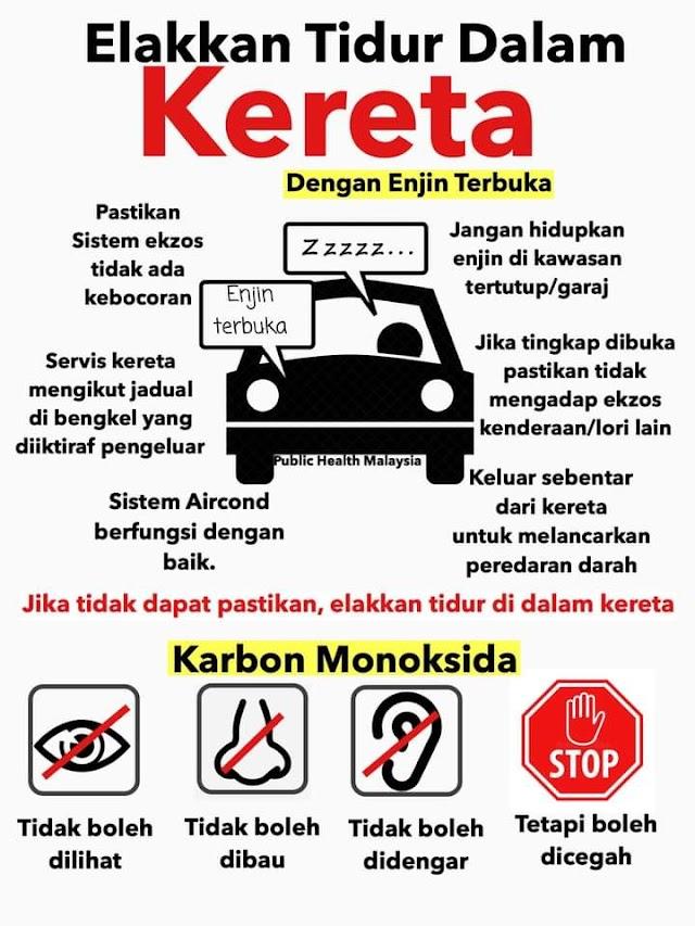 Bahaya! Punca Kematian Tidur Dalam Kereta! Take Note Guys!