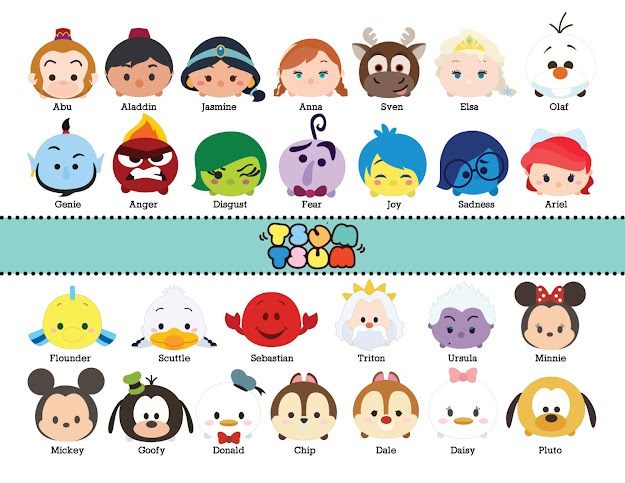 Disney Tsum Tsum  Images At Dpi Resolution By Beeshop