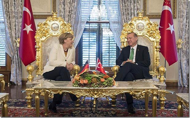 Merkel Erdogan Stühle