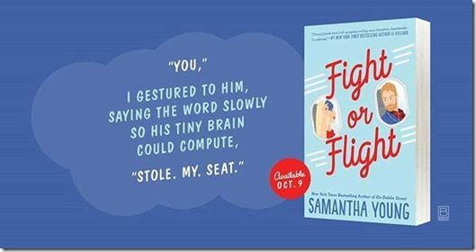 Fight or Flight by Samantha Young releases October 9, 2018!