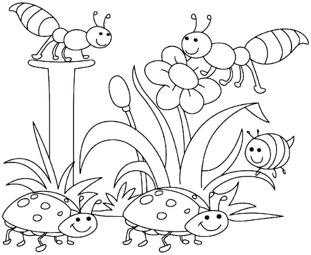 Printable Spring Coloring Pages For Adults Free Image