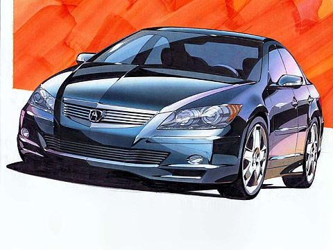 Motor Trend: Japanese car photos 2004 ACURA RL Prototype