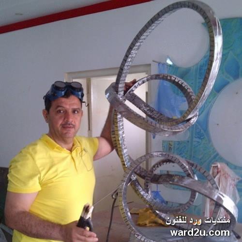 الخزاف العراقي احمد علاوي