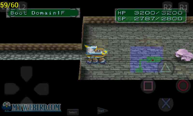 Digimon World 2 PS1 Dungeon