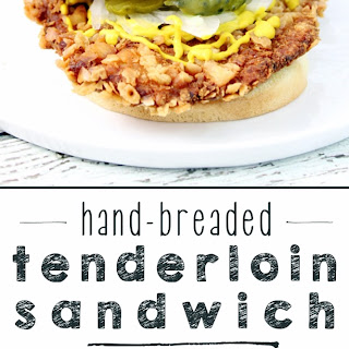 Hand-Breaded Tenderloin Sandwich