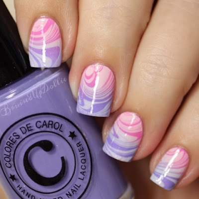 Colores de Carol watermarble topped gradient