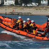 Poole's Atlantic 85 B class inshore lifeboat 'Sgt Bob Martin (Civil Service No. 50)'