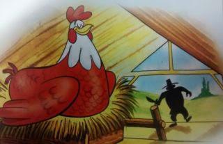 La gallina de los huevos de oro Fabula de esopo