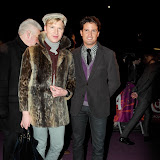 WWW.ENTSIMAGES.COM - Henry Conway and Stephen Bowman  arriving  at  Cirque Du Soleil: Kooza VIP Royal Albert Hall London January 8th 2013                                                       Photo Mobis Photos/OIC 0203 174 1069