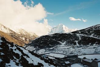 Photo: Auf dem Weg nachMachermo Schneesturm überrascht