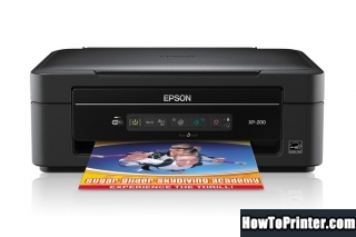Reset Epson XP-20 printer with Epson reset software