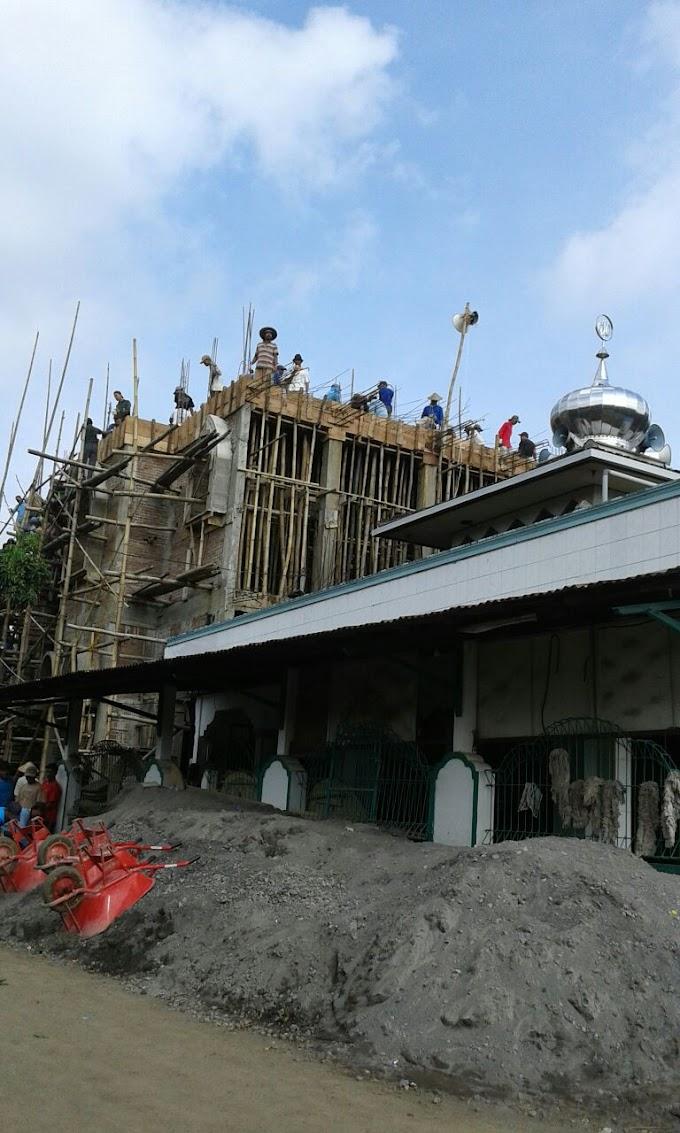 Bhaksos Koramil 21 Trangkil Bangun Masjid Bersama Warga Pasucen