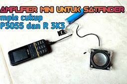 Mini Amplifier untuk modul satfinder. Simple mudah buatnya