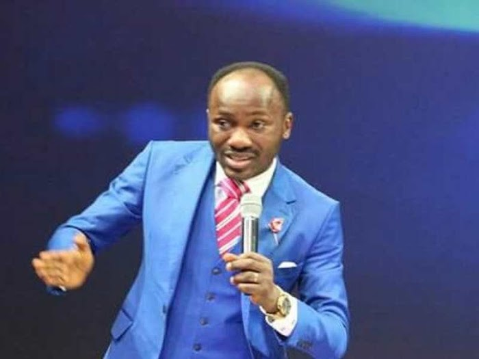 """My spiritual son spoke in tongues and appeared in France"" - Apostle Suleman"