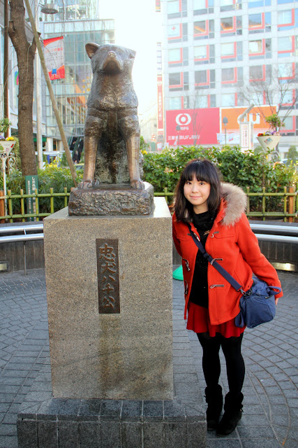 日本 東京 澀谷 忠犬小八