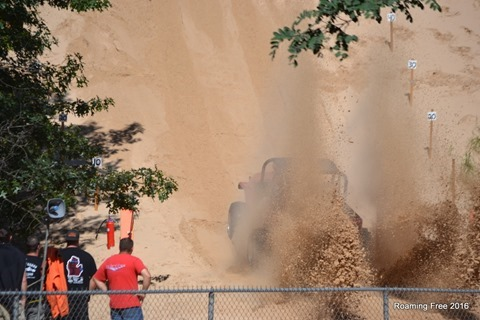 This guy really threw some sand!