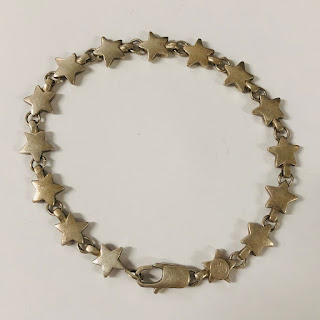 Tiffany & Co. Sterling Star Bracelet