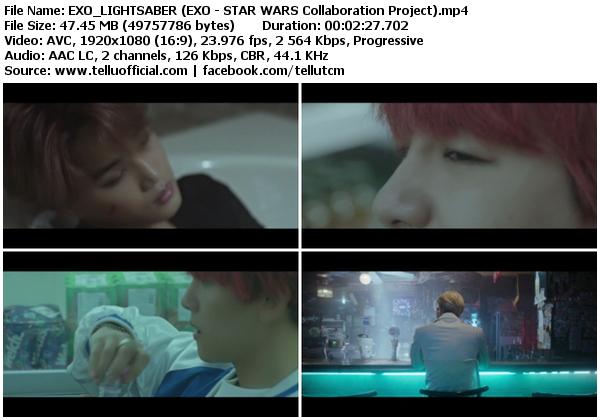 Download [MV] EXO – Lightsaber [YouTube HD 1080p]