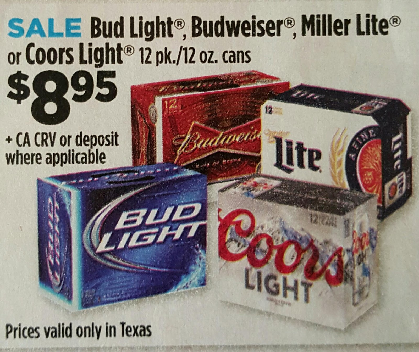 Bud Light Coupons