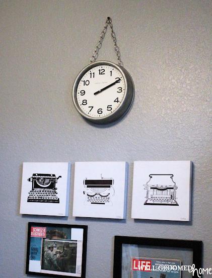 diy vintage clock