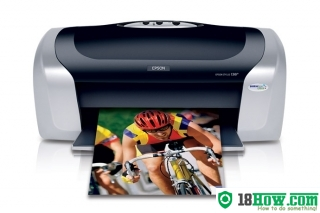 How to reset flashing lights for Epson C88 printer