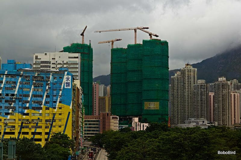 Stormy Hong Kong
