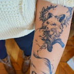 girl arm - tattoo meanings