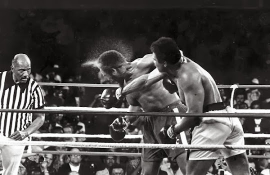 Muhammad Ali contra George Foreman