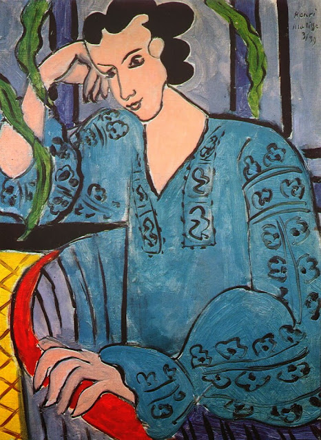 Henri Matisse - The Green Romanian Blouse