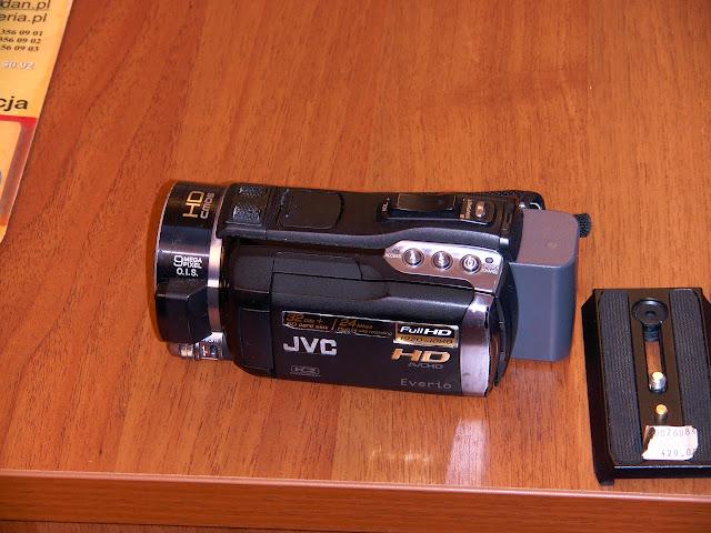 Stara Kamera JVC GZ HM 400