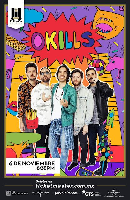 OKILLS EN EL PLAZA CONDESA