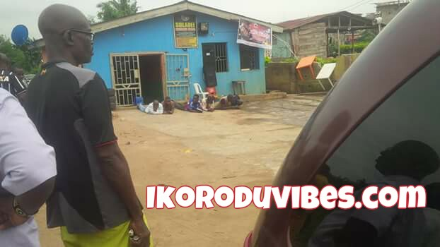 SARZ Impersonators Arrested In Ota-Ona Ikorodu (Photos)
